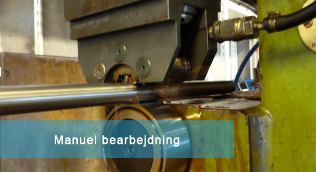 Manuel-bearbejdning